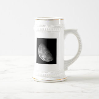 Moon from Galileo Planetary Space Mission Beer Stein