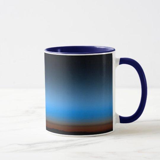 Moon From Space Ceramic Mug