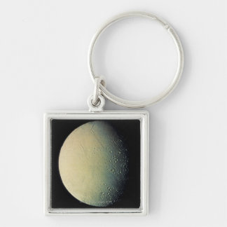 Moon from Space Keychain