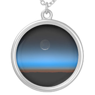 Moon From Space Necklace