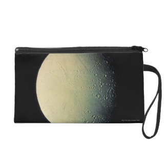 Moon from Space Wristlet Purse