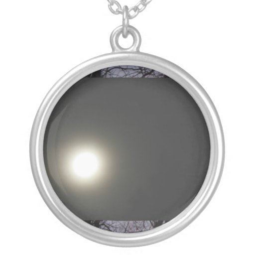 Moon Full Before Eclipse Necklace
