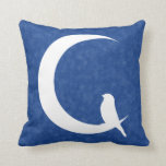 Moon Garden: Fly To The Moon / Reach For The Stars Throw Pillow