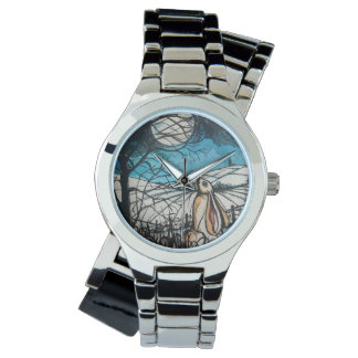 Moon Gazer Hare Wristwatch