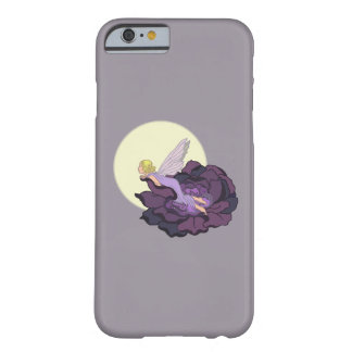 Moon Gazing Purple Flower Fairy Evening Sky Barely There iPhone 6 Case