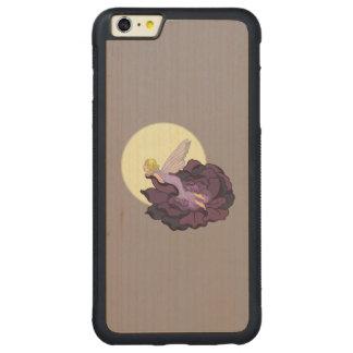 Moon Gazing Purple Flower Fairy Evening Sky Carved® Maple iPhone 6 Plus Bumper
