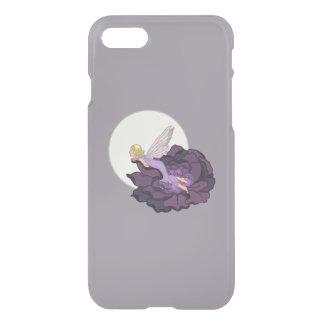 Moon Gazing Purple Flower Fairy Evening Sky iPhone 7 Case