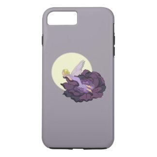 Moon Gazing Purple Flower Fairy Evening Sky iPhone 7 Plus Case