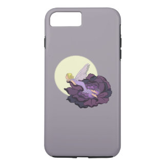Moon Gazing Purple Flower Fairy Evening Sky iPhone 8 Plus/7 Plus Case