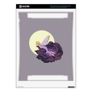Moon Gazing Purple Flower Fairy Evening Sky Skins For Xbox 360