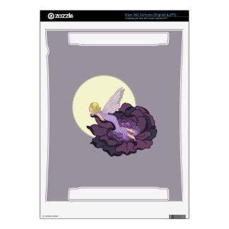Moon Gazing Purple Flower Fairy Evening Sky Skins For Xbox 360