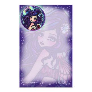 Moon Glow Fairy Fantasy Art by Hannah Lynn Stationery