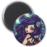 Moon Glow Fairy Fantasy Mermaid Fridge Magnets
