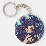 Moon Glow Fairy Fantasy Mermaid Keychains