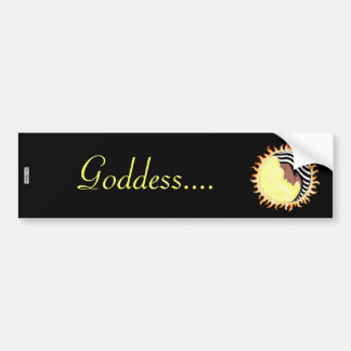Moon Goddess 2 Bumper Sticker