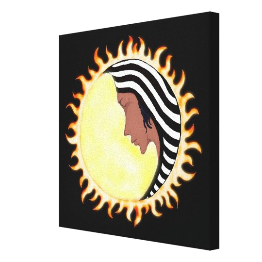 Moon Goddess 2 Canvas Print