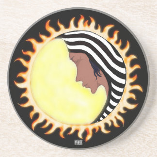 Moon Goddess 2 Drink Coaster