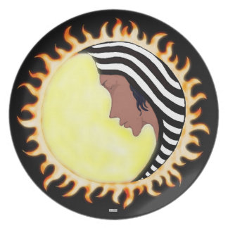 Moon Goddess 2 Plates