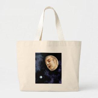 moon goddess jumbo tote bag