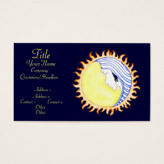 Business cards moon best business cards moon dess business cards templates zazzle colourmoves Images