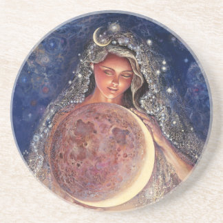 Moon Goddess Coaster