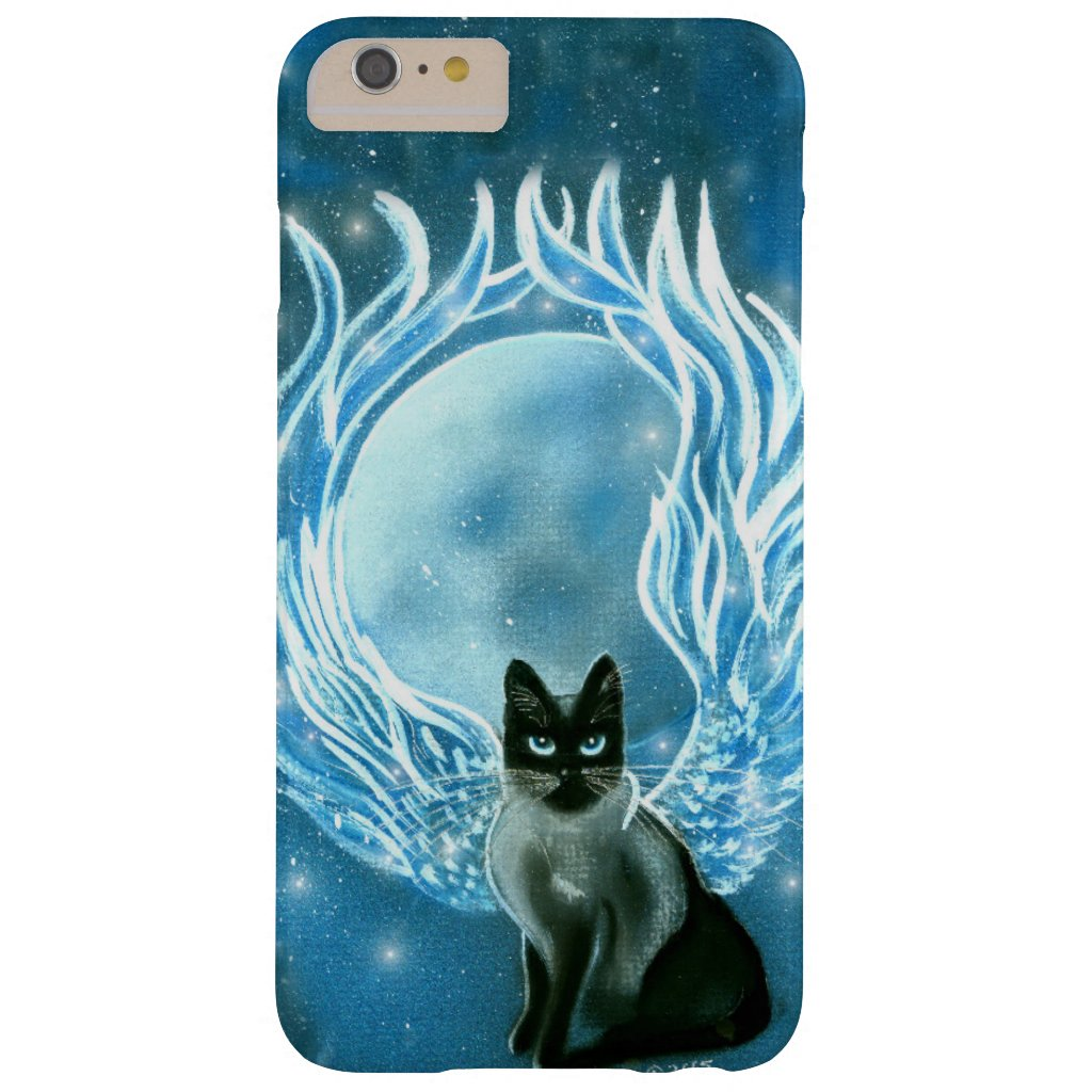 Moon Goddess Fairy Cat Phone Case