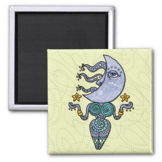 moon goddess refrigerator magnet