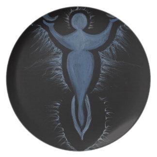 Moon Goddess Plates