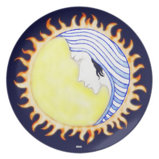 Moon Goddess Plate