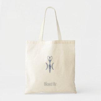 Moon Goddess Tote Bags