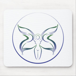 moon goddess wiccan wiccan witchcraft pagan fairy mouse pad