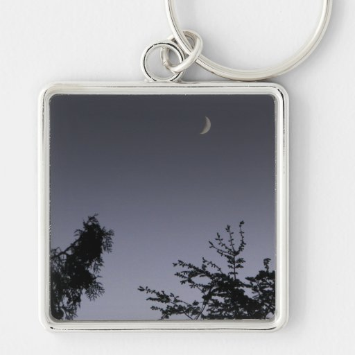 Moon Greeting Key Chains
