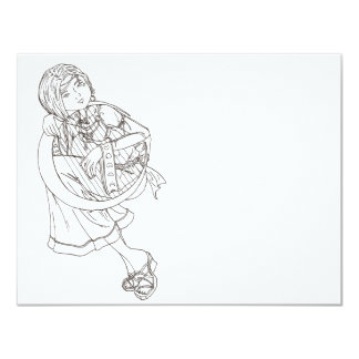 Moon Harp Card