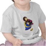 Moon Harp Tee Shirts