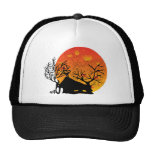 moon&house trucker hat