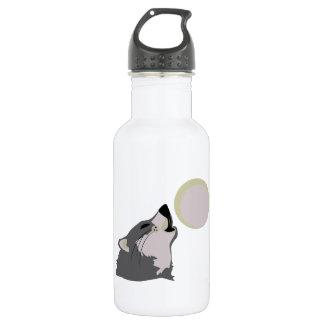 Moon Howl 18oz Water Bottle