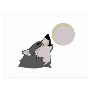 Moon Howl Postcard