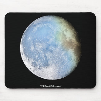 MOON IMAGE MOUSE PAD