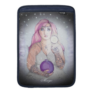 Moon in a Bottle Witch Wiccan Pagan MacBook Sleeve