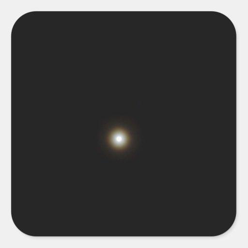 Moon in a Night Sky - CricketDiane Square Sticker