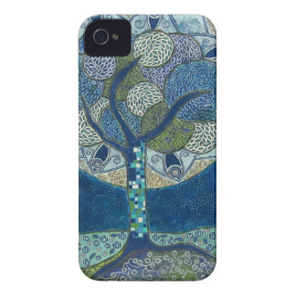 Moon in Bloom - iPhone 4 Barely There ID/CC Case-Mate iPhone 4 Cases