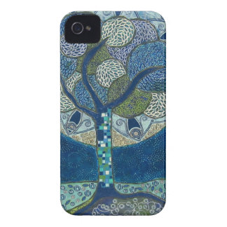 Moon in Bloom painting - iPhone 4 Barely There iPhone 4 Case-Mate Cases