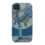 Moon in Bloom painting - iPhone 4 Case-Mate Tough Case-Mate iPhone 4 Cases