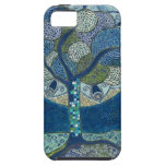 Moon in Bloom (painting) iPhone 5 Case