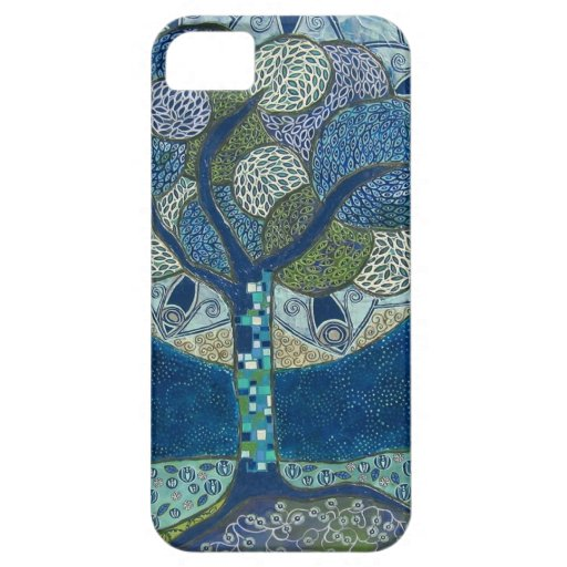 Moon in Bloom (painting) iPhone 5 Cover