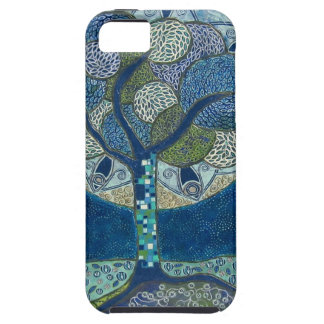 Moon in Bloom (painting) iPhone SE/5/5s Case