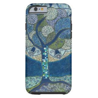 Moon in Bloom (painting) Tough iPhone 6 Case
