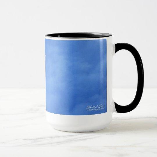 Moon in Blue Mug