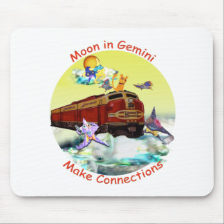 Moon in Gemini Mouse Pad