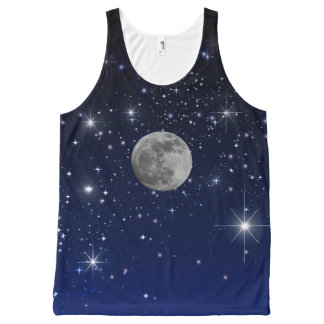 MOON IN SPACE All-Over-Print TANK TOP